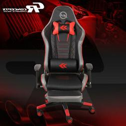 NRG RSC-G100RD RECLINABLE BACK OFFICE RACING GAMING CHAIR SE