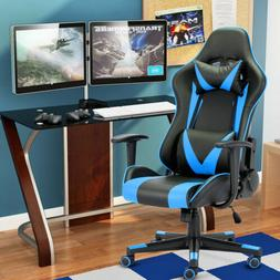Racing Style PC Gaming Chair w/ Headrest&Lumbar Support Gami