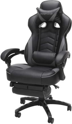 RESPAWN 110 Gaming Office Chair with Footrest Headrest and L