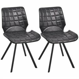 vidaXL Set of 2 Dining Office Living Room Kitchen Chair Arti