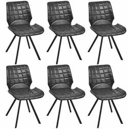 vidaXL Set of 6 Dining Office Living Room Kitchen Chair Arti