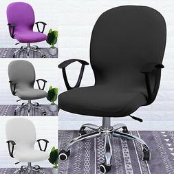 Swivel Computer Chair Cover Stretch Remove Office Armchair S