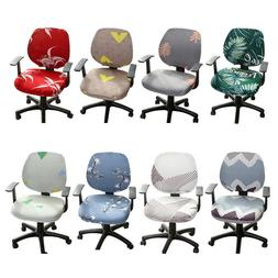 Universal Office Computer Chair Cover Stretchable Rotate Cha
