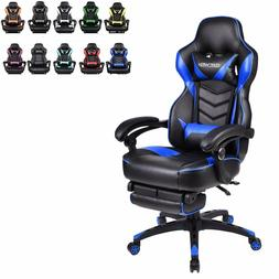 Video Gaming Chair Racing High Back Ergonomic Recliner Offic